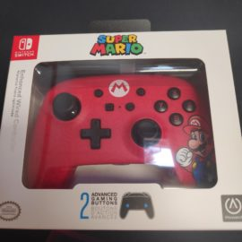 Manette Nintendo switch rouge Mario filaire