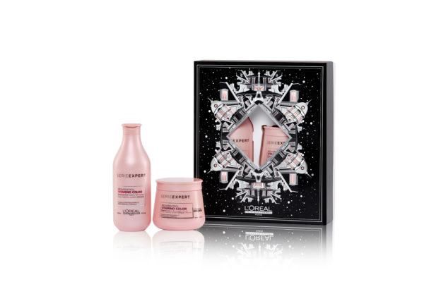 L'Oréal Professionnel Serie Expert Vitamino Color Resveratrol coffret cadeau (pour cheveux colorés)