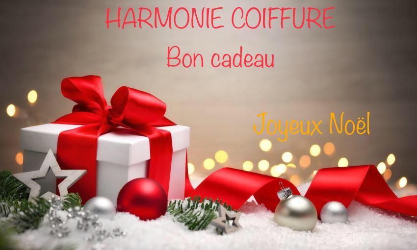 Bon cadeau chez Harmonie coiffure